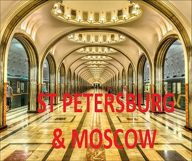 Single Trip to Moscow and St Petersburg with Eastward Travels
